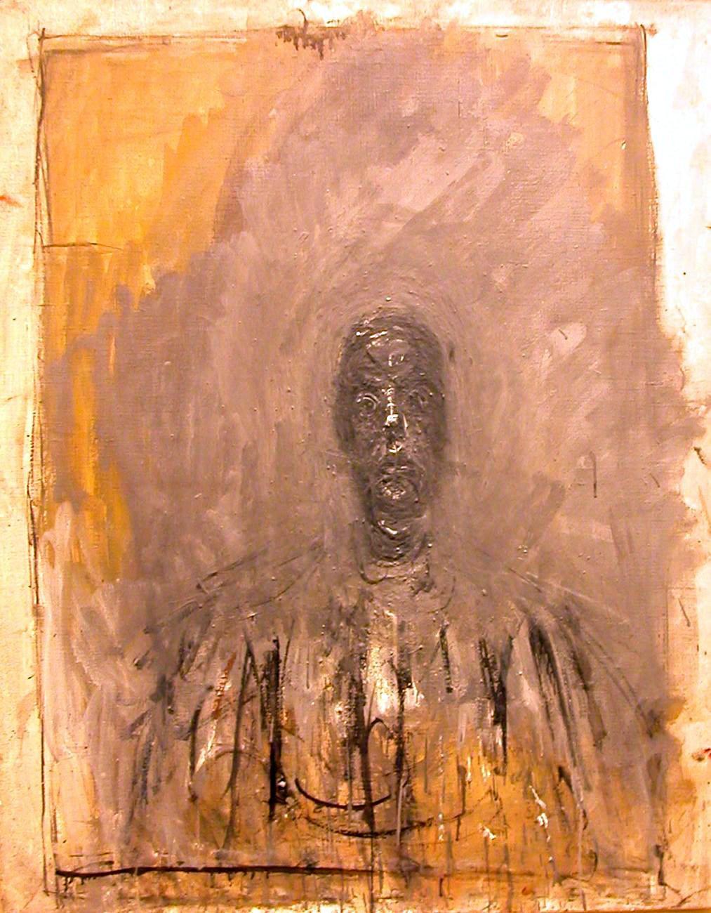 Alberto Giacometti, Tête noire, 1960